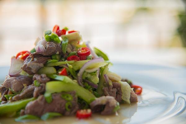 Veasna's Khmer Beef Salad