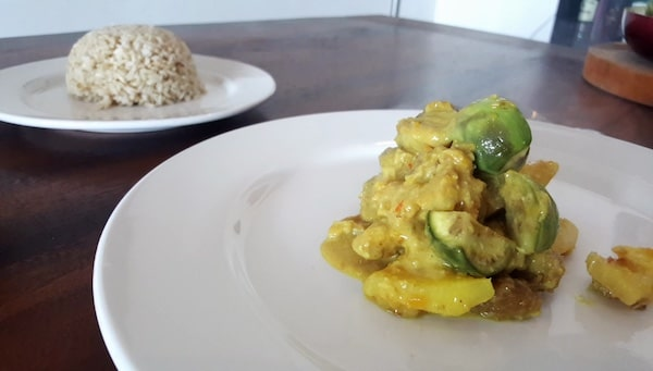 Khmer Pork Coconut & Pineapple Curry