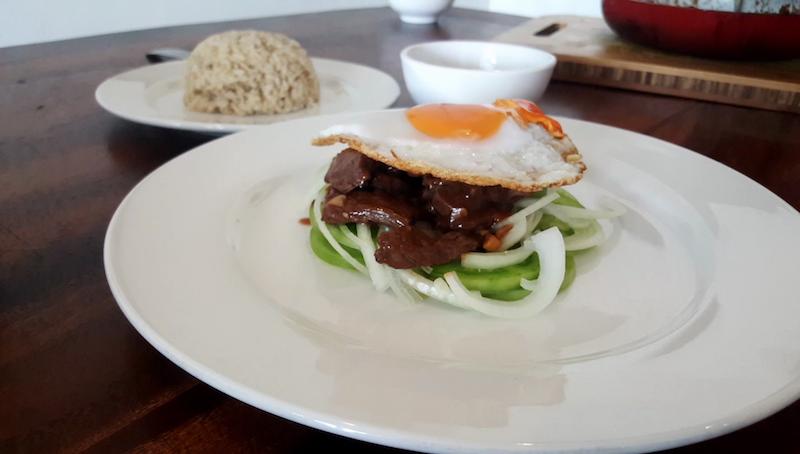 Khmer Beef Lok Lak