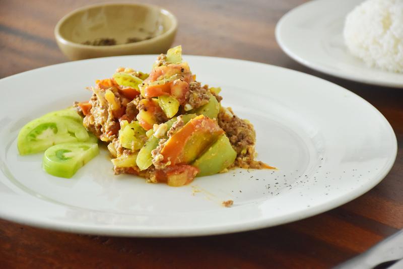 Khmer Fried Green Tomatoes