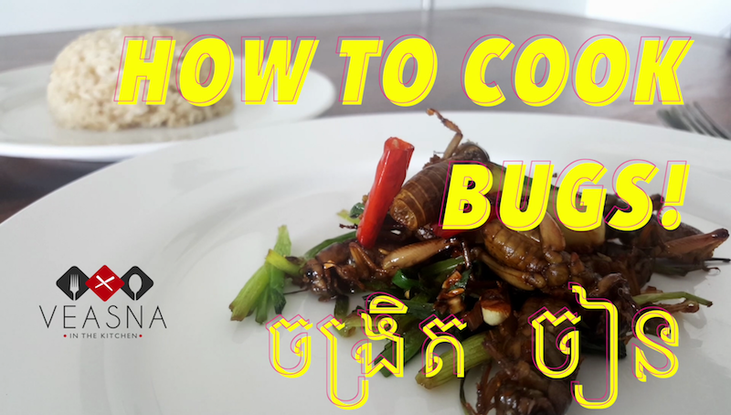 How to Cook Bugs in Cambodia